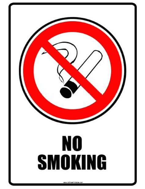 free no printable no signs free clipart best