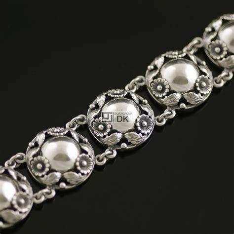 silver bracelet vintage silver bracelet n e from bracelets