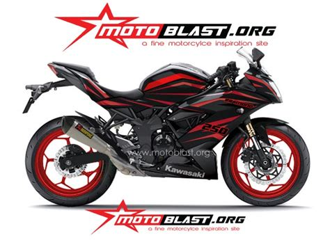 250 Rr Mono Modification by Modification Decal Design Kawasaki 250 Rr Mono Black