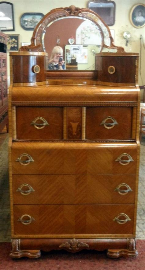 1930s bedroom furniture vintage 1920 30 s four burl wood complete bedroom