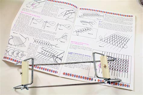 how to make your own beading loom beading on a diy loom tally s treasury