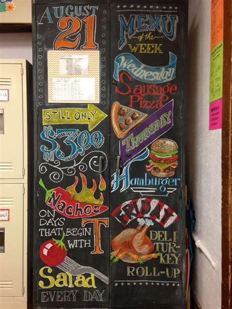 chalk paint jefferson city mo chalkboard menu for my classroom teaching ideas
