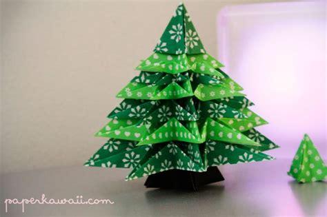 modular origami tree origami tree paper crafts