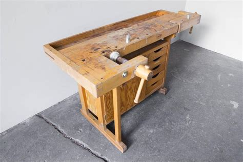 sjoberg woodworking bench sj 246 bergs joiner s workbench at 1stdibs
