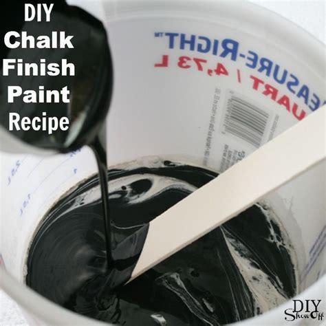 lowes diy chalk paint recipe chalk finish paint recipe