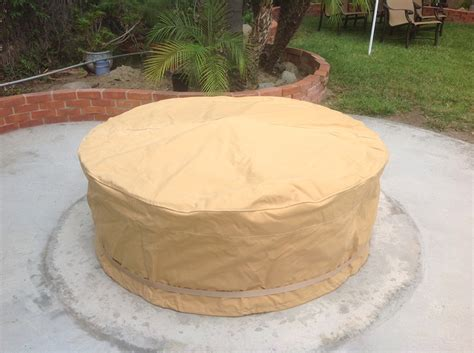 outdoor firepit covers pit covers capcover