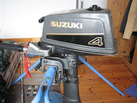 Suzuki 4hp Outboard by Suzuki Dt 4 2 Stroke 4hp Outboard Used Shaft For