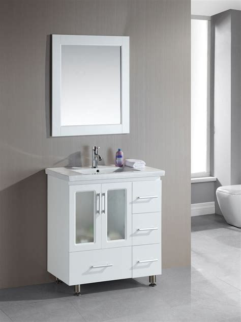 Small White Bathroom Vanities by Narrow Bathroom Vanities With 8 18 Inches Of Depth
