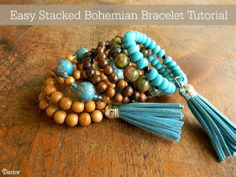 how to make bohemian jewelry artistic endeavors 101 bohemian memory wire bracelet