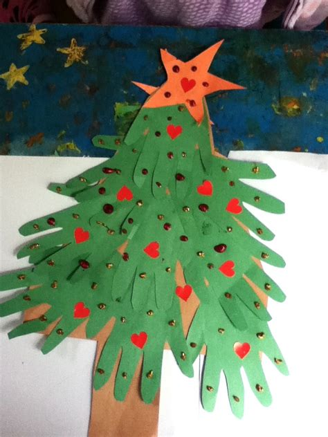 tree preschool craft handprint tree craft preschool education for