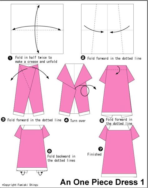 origami clothing 17 best ideas about origami dress on cards