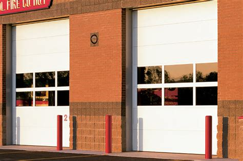 sectional overhead door thermacore sectional steel doors 596