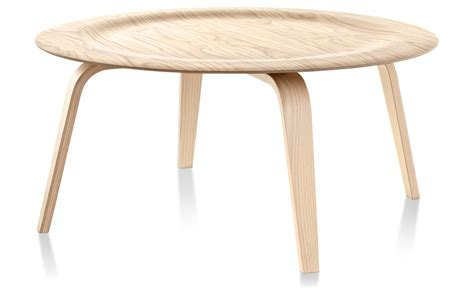 plywood coffee table eames molded plywood coffee table with wood base