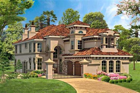 italian home plans italian house plan 3 bedrooms 3 bath 4281 sq ft plan 63 406