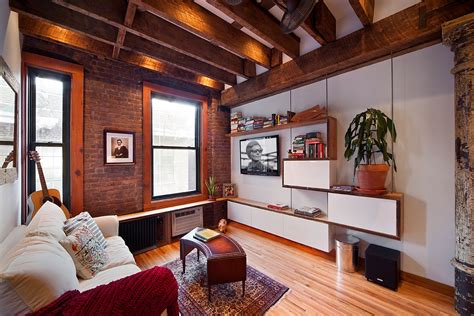 apartamentos rusticos dise 241 o de departamento peque 241 o combina r 250 stico y moderno
