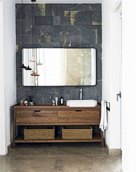 wood vanity units bathroom 1000 ideas about vanity units on wall hung
