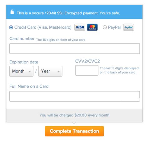 can you make car payment with credit card the ultimate ux design of the credit card payment form