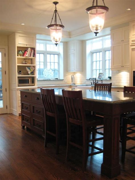 kitchen island table with 4 chairs kitchen island design ideas with seating smart tables carts lighting