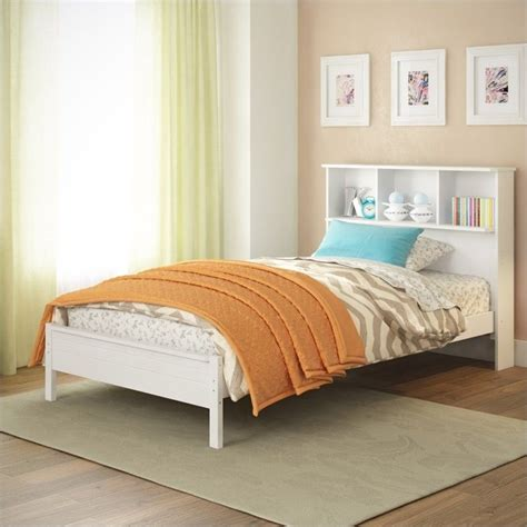 beds with bookcase headboard single bed with bookcase headboard in white baf 510 s