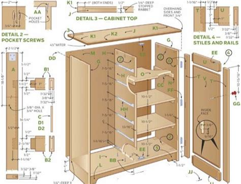 how to build kitchen cabinets free plans 25 best ideas about cabinet plans on shop
