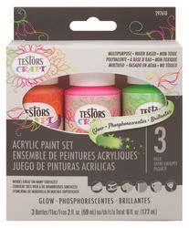 glow in the paint menards testors craft 3 color pack glow at menards 174