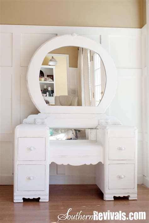 How To Decorate Mirror At Home a 1940s vanity dresser amp mirror revival southern revivals