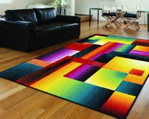 Colorful Area Rugs tayse rugs living room contemporary with area rug colorful