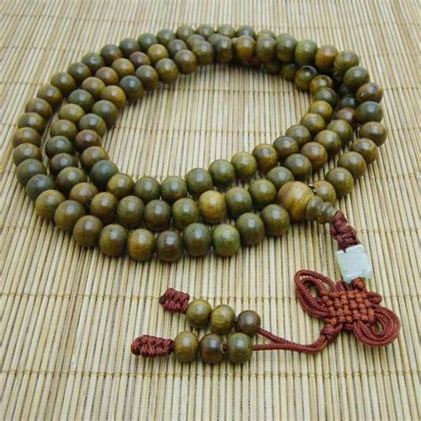 mala sandalwood 8mm green sandalwood mala designs