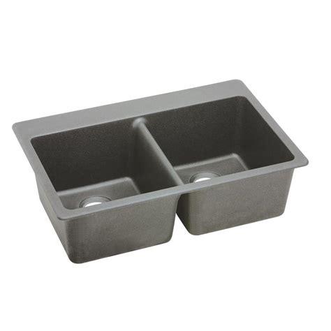 quartz kitchen sink elkay quartz classic top mount composite 25 in single
