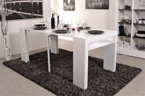 console extensible 3 allonges 1 tiroir 180 cm laqu 233 e blanche miranda design pas cher sur sofactory