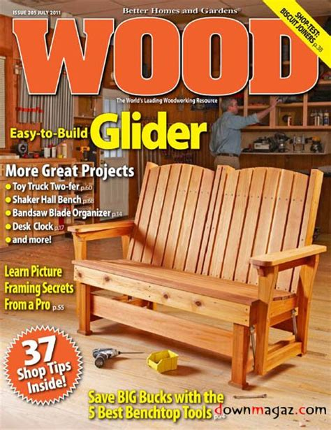 woodworking publications pdf diy wood magazine wood outdoor chair plans