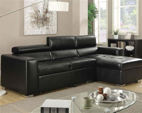 pull out sofa sectional sectional sofa w pull out bed aidan by acme ac51640