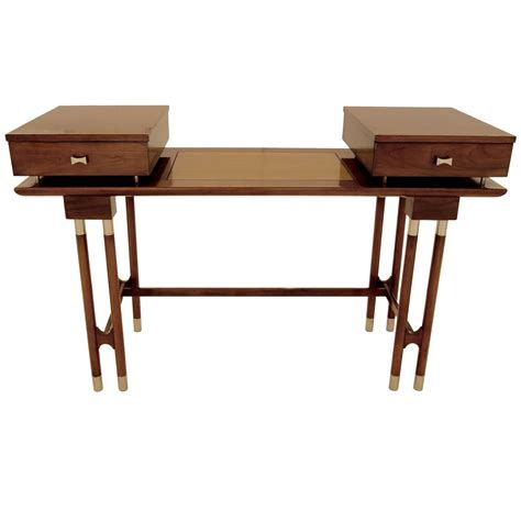 mid century modern desk for sale mid century modern writing desk or vanity for sale at 1stdibs
