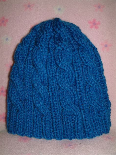cable knit hat pattern cable knitted hat free pattern knitting projects