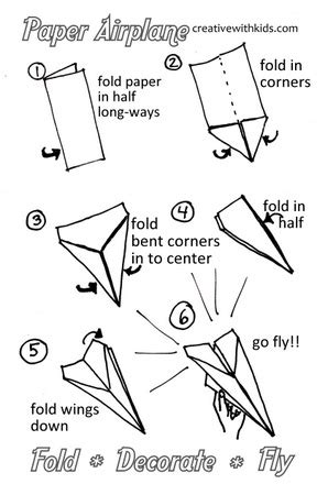 how to make a card fly around you how to make the best paper airplane
