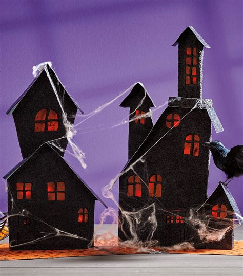 haunted house crafts for paper haunted house craft crafts jo