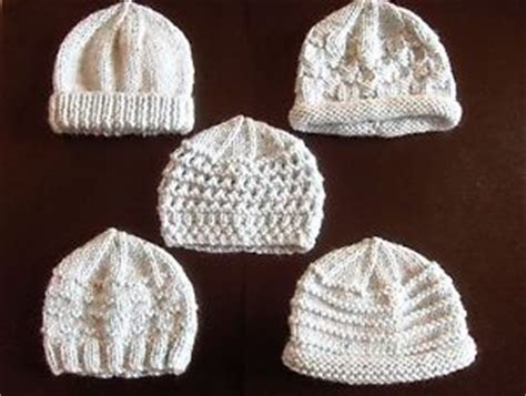 premature baby hats knitting patterns premature small baby knitting pattern for 5 hats ebay