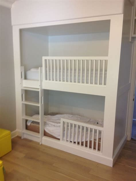 built in beds crafted built in bunk beds by bk renovations inc