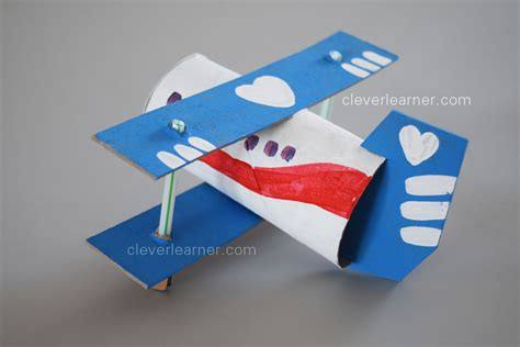 paper airplane craft step by step of an airplane craft