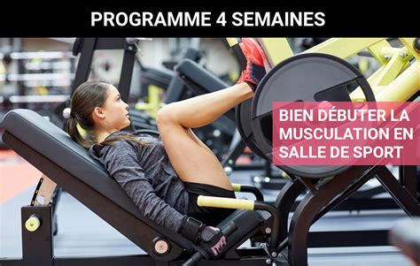 programme de musculation pour femme en salle de sport niveau d 233 butante musculation au f 233 minin