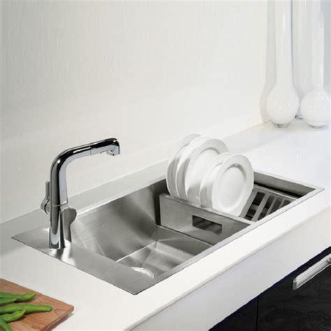 kohler kitchen sinks kohler geog 1 0 bowl stainless steel kitchen sink 3746t