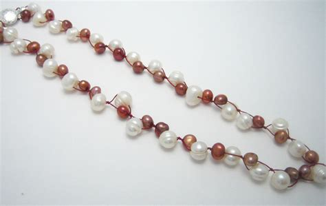 how to make a simple beaded necklace easy to make beaded necklace