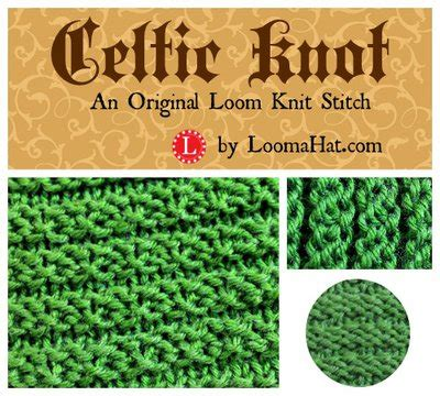 loom knitting purl stitch celtic knot loom knit stitch pattern by loomahat on deviantart