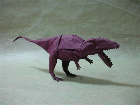 origami simple shuki kato origamido giganotosaurus compare it to the