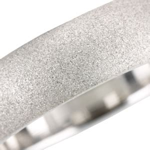 bead blast finish special finish for wedding bands