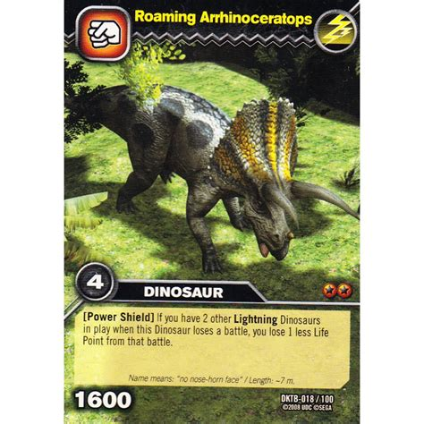 how to make dinosaur king cards deck dinosaur king card dktb 018 roaming