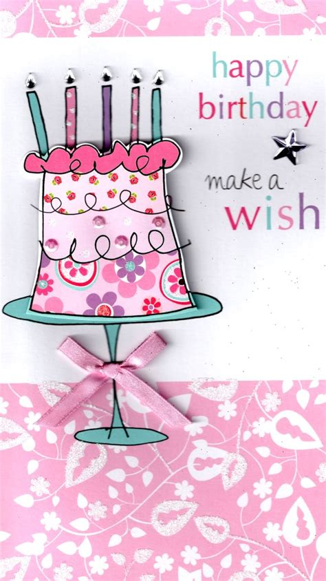 make a happy birthday card for free make a wish happy birthday greeting card cards kates