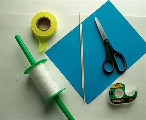 how to make a card fly around you easy paper kite for