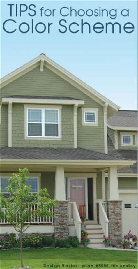 choosing paint color house exterior how to choose a home exterior color scheme design basics