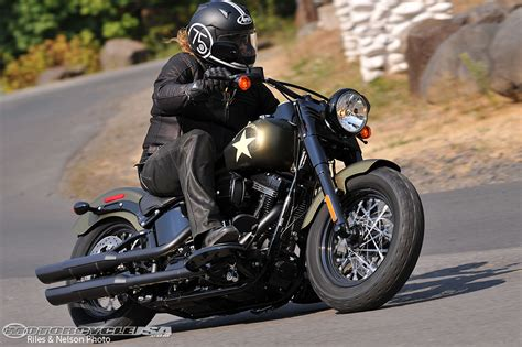 Best Car Wallpaper 2017 Hd Softail by 2016 Harley Davidson Softail Slim S Review Motorcycle Usa